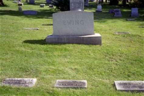 buck graves buck ewing grave by baseball almanac