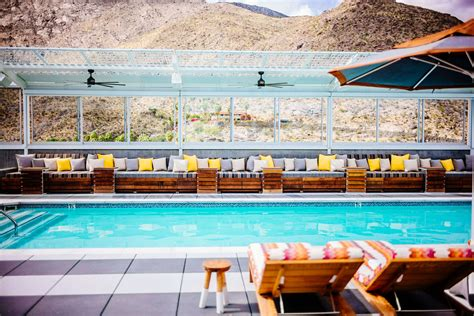 Which Hotel Has The Best Pool In Palm Springs Ca - kimpton rowan hotel palm springs the taste sf