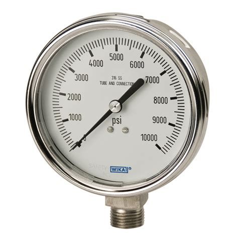 Pressure Wika 232 50 bourdon pressure gauges 232 54 233 54 wika usa