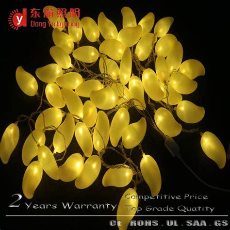 custom string lights custom fruit shape fancy string lights for indoor and