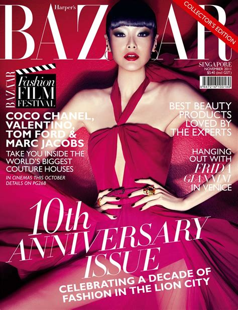 Harpers Bazaar Its Here by 11 November 2011 Art8amby S