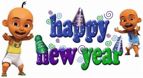 upin ipin new year song animinasi upin and ipin new years 2015 wallpaper