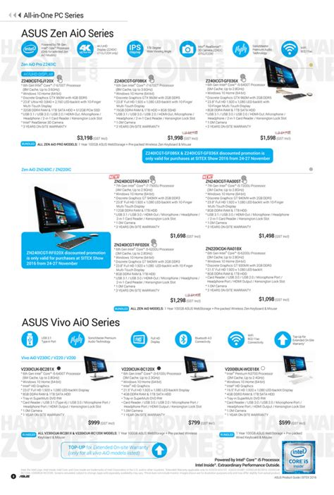 Singapore Product Guide asus brochures page 3 3 sitex 2016 singapore
