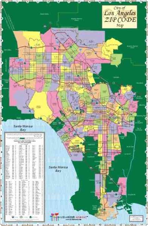 printable zip code map los angeles los angeles county zip code map holidaymapq com
