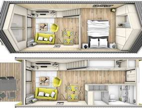 One Floor Tiny House house on wheels tiny house storage tiny house interiors tiny house