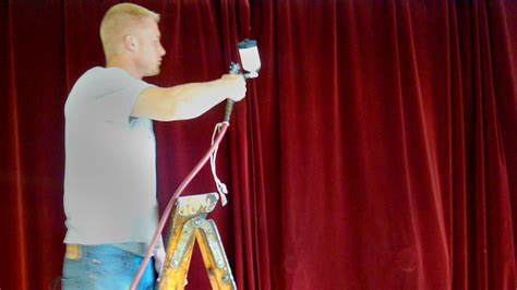 fire retardant stage curtains flameproofing theatrical drapery curtains for fire code