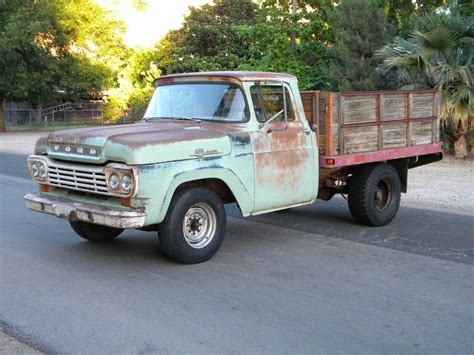 truck bed cers for sale 1959 ford f 250 stake bed ranch truck for sale