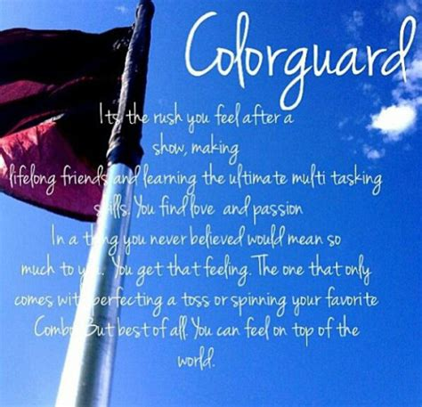 color guard quotes color guard inspirational quotes quotesgram