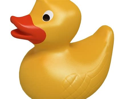 3d Rubber Duck rubber duck 3d model max obj c4d mtl cgtrader