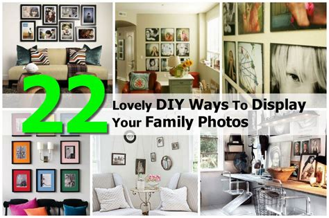 where to display family photos 22 lovely diy ways to display your family photos