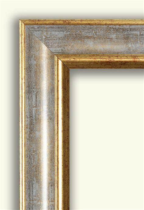 cornici pronte per quadri falso di autore cornice classica rovesciata oro argento di