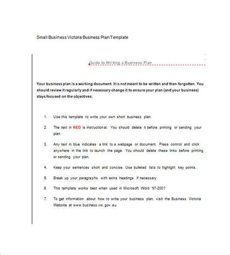 microsoft word business plan templates microsoft business plan template 18 free word excel