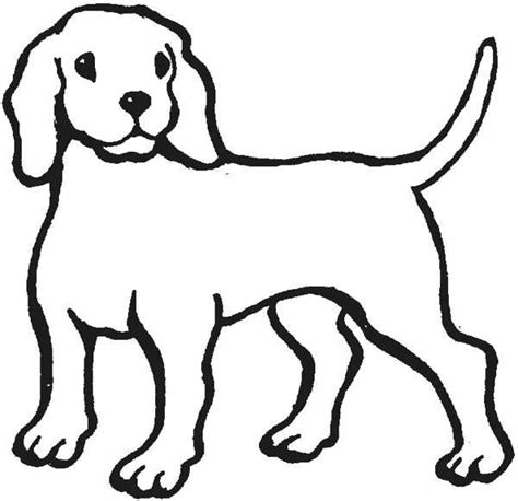 outline   dog clipartsco drawing dog outline