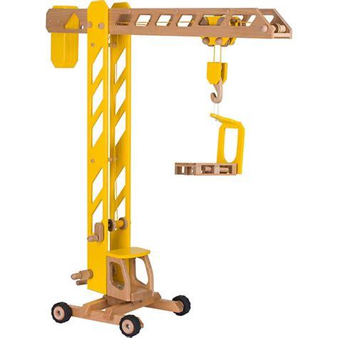 Metall Spielzeug Zum Zusammenbauen 4538 by Kran Aus Holz Goki Mytoys