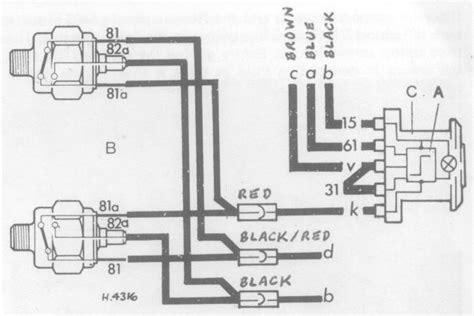vw bug 3 wire ignition switch wiring diagram get free