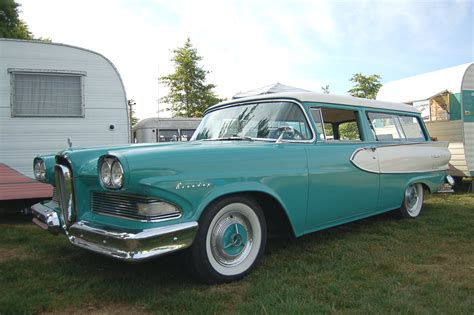 ford edsel wagon 1958 edsel roundup 2 door station wagon photos and specs
