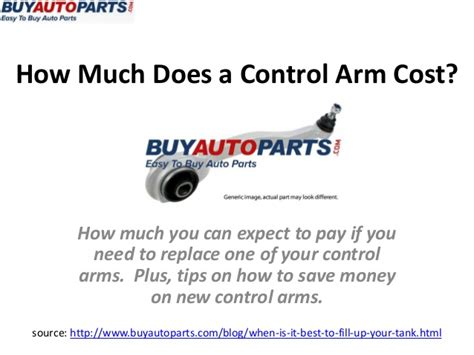 how much does a arm cost