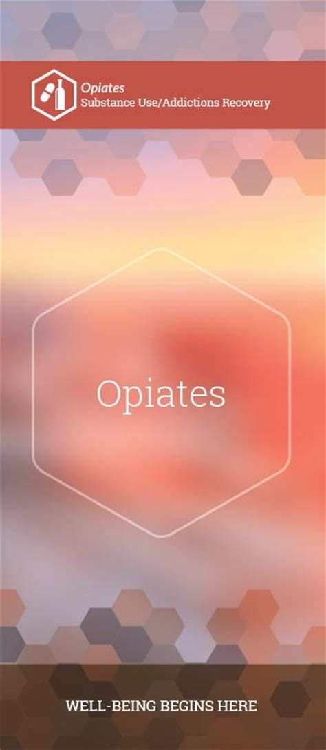 Opiate Detox Covered By Insurance by Opiates Phlet Brochure 6195s1 Lified Network