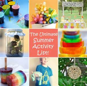 13 fun summer activities