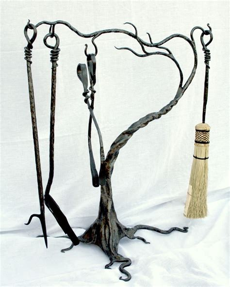 Handmade Fireplace Tools - handmade fireplace tool sets by earth eagle forge llc