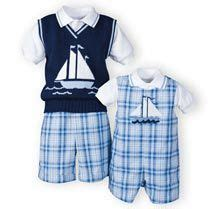 Swim Vest C Motif baby sailor boy dress suit anchor