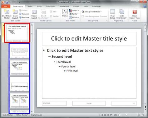 add layout powerpoint 2010 inserting new placeholders in slide layouts in powerpoint