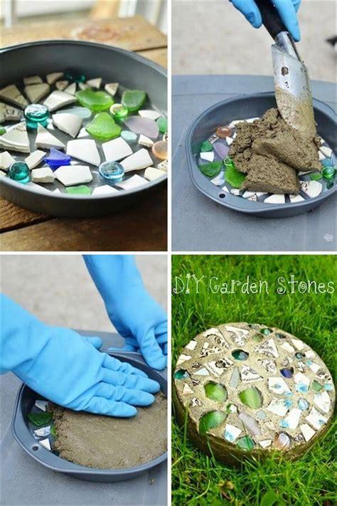 Garden Stepping Stones Ideas 10 Diy Creative Gift Ideas Diy And Crafts
