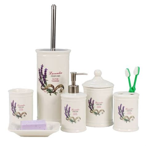 lavender bathroom set lavender bathroom accessories decor shabby chic pinterest