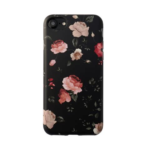 Flower Fur For Iphone 7 Plus Iphone 8 Plus floral for iphone 8 7 elemental cases
