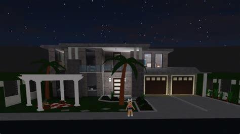 bloxburg modern beach house  advanced placement