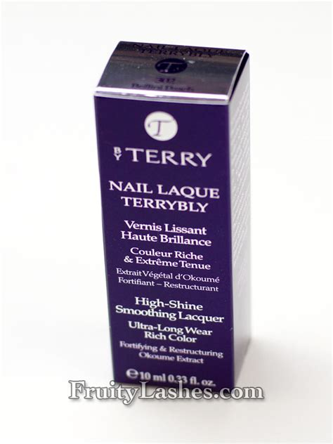 by terry nail laque terrybly 12 terrybly terry in love terrybly with by terry spring 2012 passion pastel