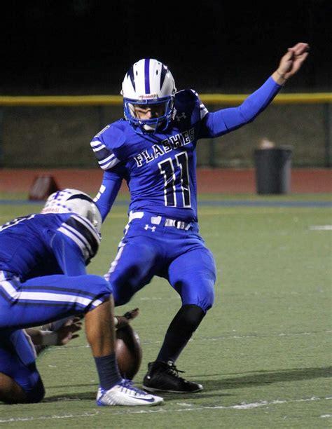 schurr high school football coaches varsity flashes fall short against schurr 10 56 in cif