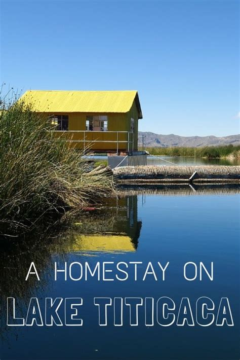 a homestay on lake titicaca