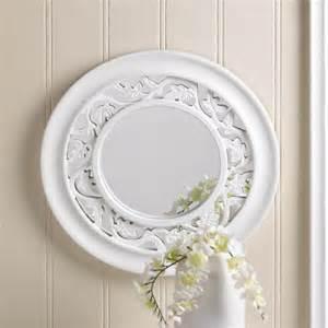 wall decor mirror home accents white wall mirror wooden new home decor ebay