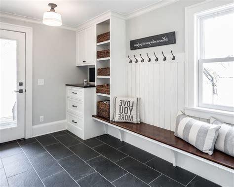 Mudroom Floor Ideas Minneapolis Entryway Flooring Ideas Entry Farmhouse With Mudroom Storage Traditional Floor