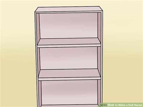 how to make a dolls house from a cardboard box 4 ways to make a doll house wikihow