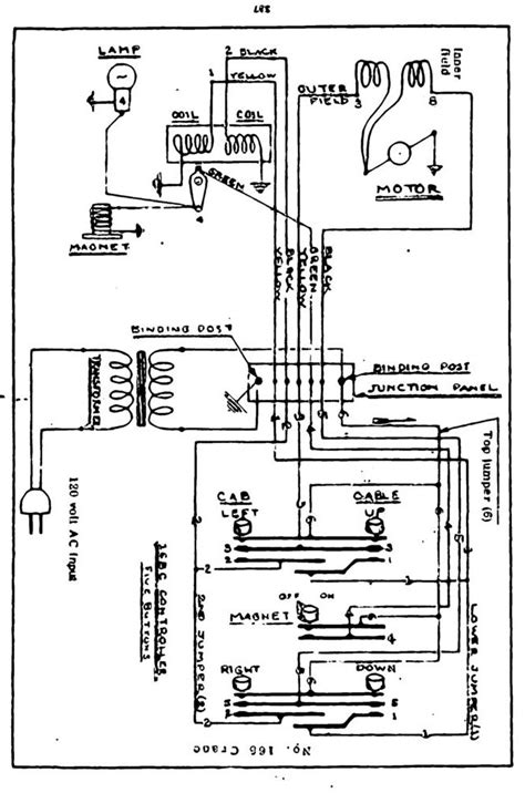 lionel 165 magnetic crane wiring diagram 40 wiring