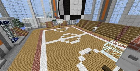 how to build a basketball court in your backyard minecraft tutorial how to build a basketball court youtube