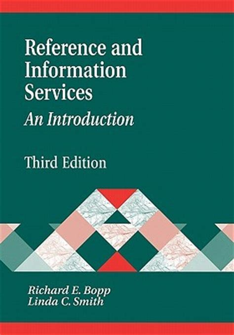 reference book library services reference and information services an introduction