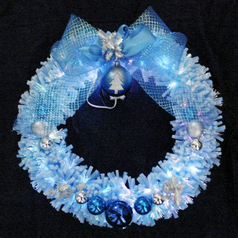 china sponge optic fiber decorative wreath s wo 45nw 3