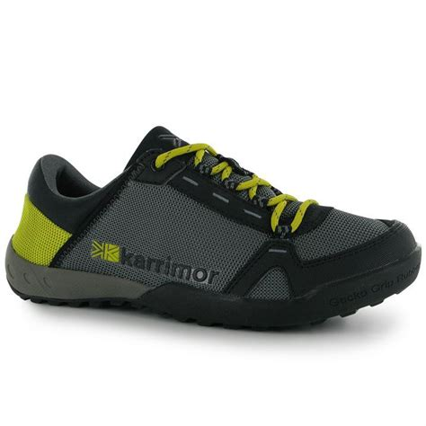 karrimor mens gecko walking shoes laced casual everyday