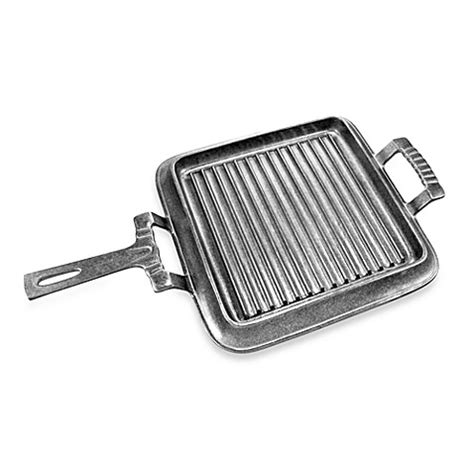 Wilton Oven Griddle Only wilton armetale 174 grillware square griddle with handles bed bath beyond
