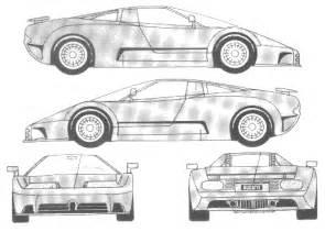 Bugatti Veyron Blueprints Car Blueprints Bugatti