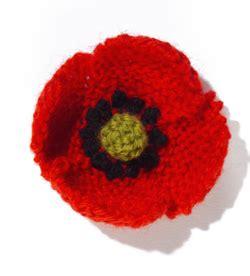 knitting pattern for a poppy flower lella remembrance sunday