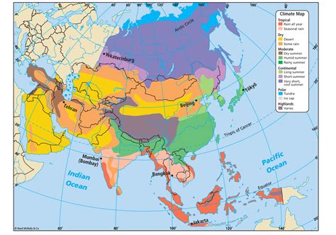 Search Asia Climate Maps Of Asia Search Maps