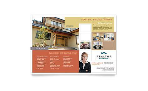 leaflet design for estate agents realtor real estate agency flyer template design