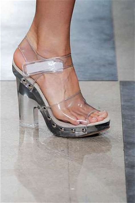 see through high heels 2010 shoes take on