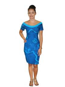 rairoa piti spandex dress pacific islands art