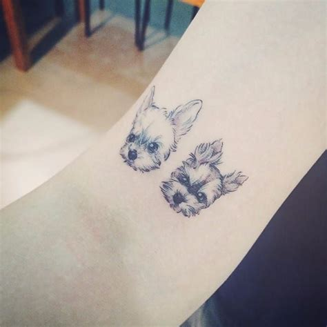 dog and cat tattoo 18 charming tattoos for those who can t choose between