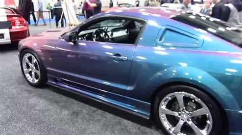 mustang colors custom mustang changes color 2015 sd auto show
